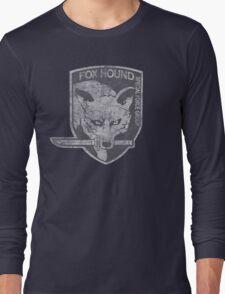 Battle Worn - Fox Hound Special Force Group  Long Sleeve T-Shirt