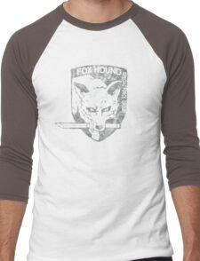 Battle Worn - Fox Hound Special Force Group  Men's Baseball ¾ T-Shirt