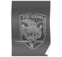 Battle Worn - Fox Hound Special Force Group  Poster