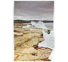Bellerive Beach from Kangaroo Bluff Poster