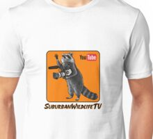 SuburbanWildlifeTV logo version3 :) Unisex T-Shirt