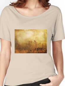 Beach Grasses of Gold... Women's Relaxed Fit T-Shirt