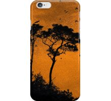 Orange Sky Rising iPhone Case/Skin