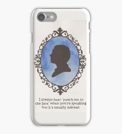 John Watson Cameo iPhone Case/Skin