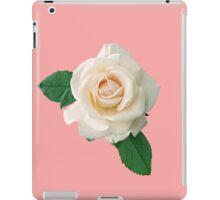 Gentle white rose iPad Case/Skin