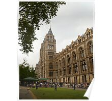 The Natural History Museum Building Poster
