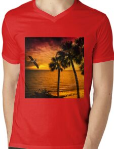 New Year in Florida Mens V-Neck T-Shirt