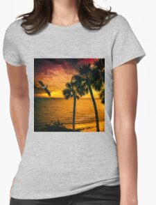 New Year in Florida Womens Fitted T-Shirt