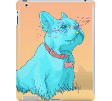 Psychedelic French Bulldog iPad Case/Skin