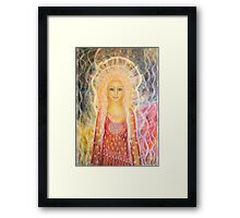 You are a shining star Framed Print
