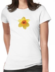 DAFFODIL FLOWER Womens Fitted T-Shirt