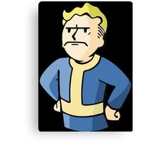 Fallout - Angry Vault Boy Canvas Print