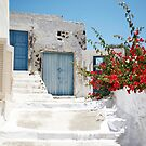 Santorini Spring by Mary Grekos