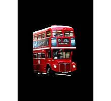 Here Comes A London Bus! Photographic Print