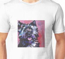 Cairn Terrier Dog Bright colorful pop dog art Unisex T-Shirt