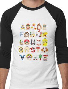 Super Mario Alphabet T-Shirt