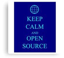 Keep Source Canvas Print