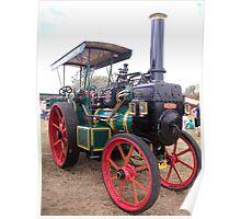 Mclaren Steam Tractor Poster