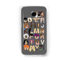 Harry Potter Alphabet Samsung Galaxy Case/Skin
