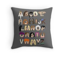 Harry Potter Alphabet Throw Pillow