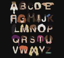 Harry Potter Alphabet Kids Clothes