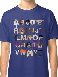 Harry Potter Alphabet Classic T-Shirt