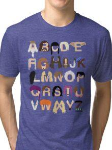 Harry Potter Alphabet Tri-blend T-Shirt