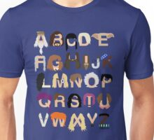 Harry Potter Alphabet Unisex T-Shirt