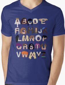 Harry Potter Alphabet Mens V-Neck T-Shirt