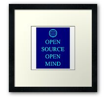 Mind Source Framed Print