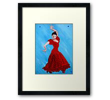 Viva Flamenco Framed Print