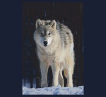 Timber Wolf One Piece - Long Sleeve