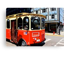 Trolley Canvas Print