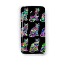 Colorful Cats 6 Samsung Galaxy Case/Skin