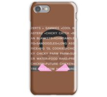 Tom Haverford Slang iPhone Case/Skin