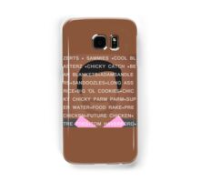 Tom Haverford Slang Samsung Galaxy Case/Skin