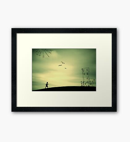 The Places I've Been... Framed Print