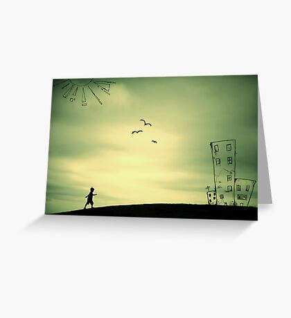 The Places I've Been... Greeting Card