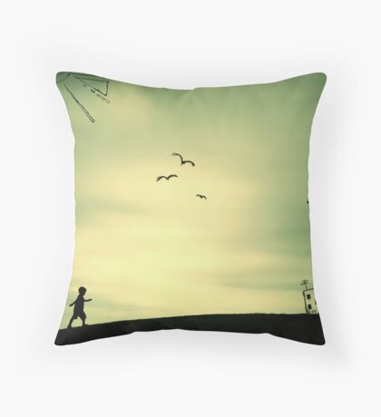 The Places I've Been... Throw Pillow