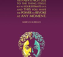 Marcus Aurelius quote: The Power to Revoke by elvindantes