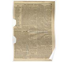 (PAGE 5) PORTLAND TRANSCRIPT, AUG.27, 1853 Poster