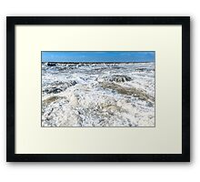 The Rough Seas Framed Print