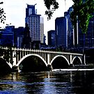 Minneapolis in Blue by shutterbug2010