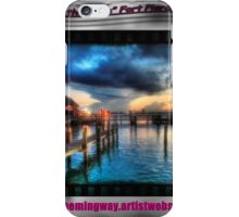 On the Edge, Fort Pierce iPhone Case/Skin