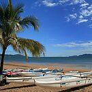 Fancy a dip - Townsville Beach by Robyn Selem