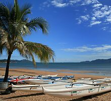 Fancy a dip - Townsville Beach by Robyn Selem