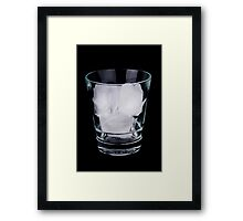 Ice in a glass Framed Print