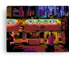 Rules - Oldest Restaurant in London - Pop Art Canvas Print