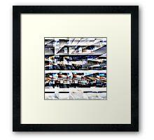 eARTh Base Shelter Framed Print