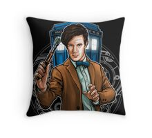 11th Doctor - Eleventh Heaven Throw Pillow